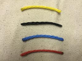 Vildmannens tugline 6 mm PE rope