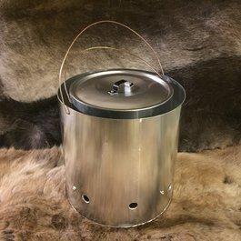 Vildmannens dog kitchen / Water boiler